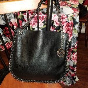 Michael Kors chained strapped shoulder bag